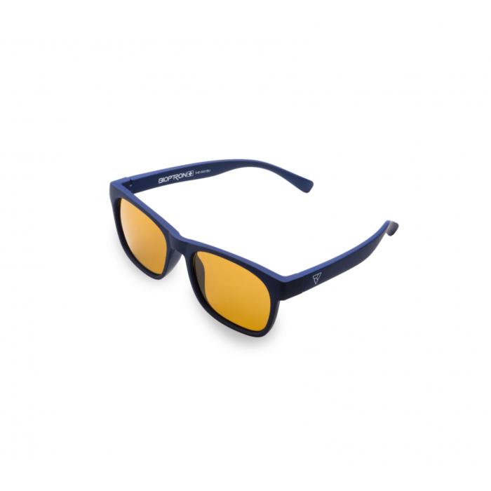 Детские фуллереновые очки Tesla Hyperlight Eyewear, Model 401 Синие