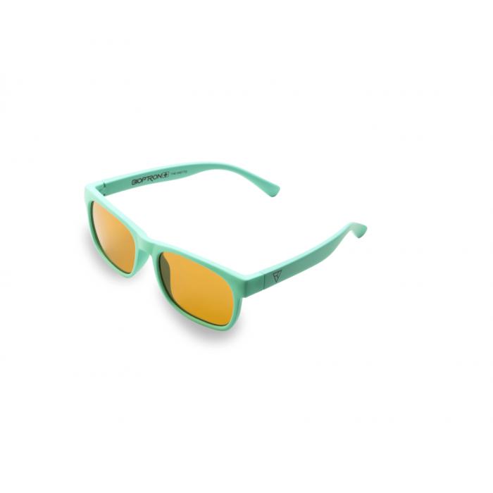 Детские фуллереновые очки Tesla Hyperlight Eyewear, Model 401 Бирюзовые