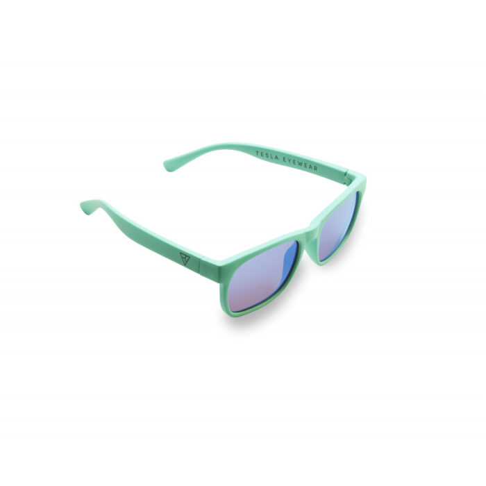 Детские фуллереновые очки Tesla Hyperlight Eyewear, Model 402 Бирюзовые