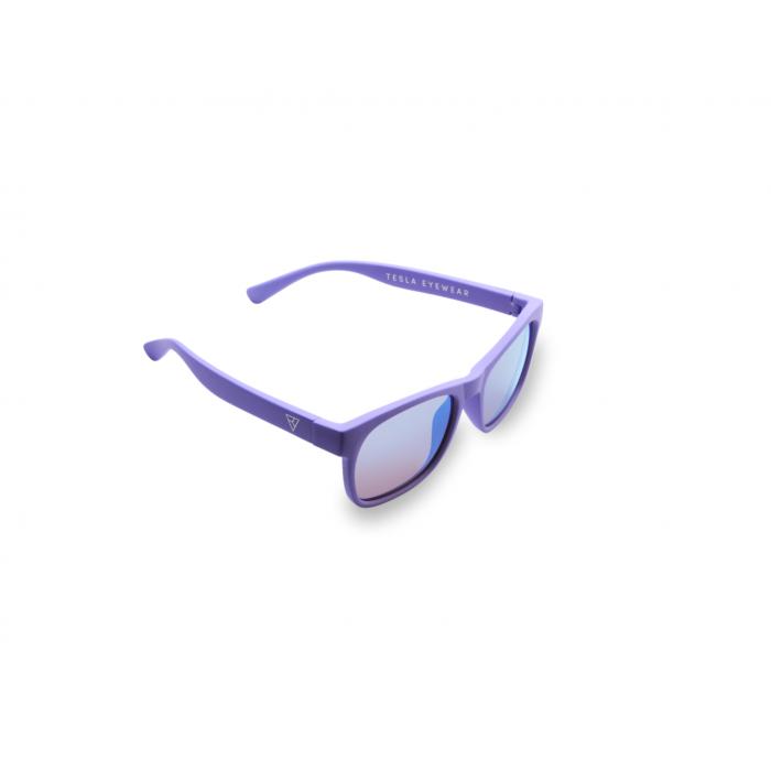 Детские фуллереновые очки Tesla Hyperlight Eyewear, Model 402 Фиолетовый