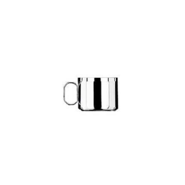 Набор Астра из 6 шт кофейных чашек - посеребренный