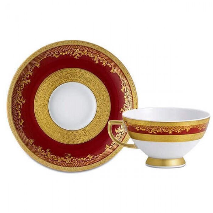 Фарфор Royal Gold - Кофейный набор Дополнение Бордо (12 Единиц)