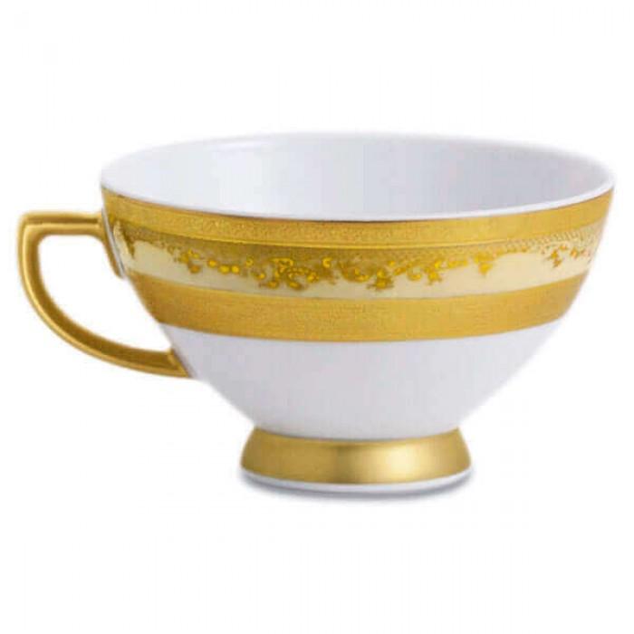 Фарфор Royal Gold - Набор для Ужина 12 Персон Кремовый (43 Единицы)