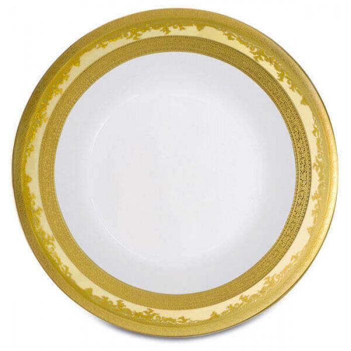 Фарфор Royal Gold - Салатники 19 cм Кремовые (6 Единиц)