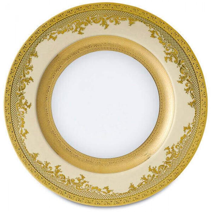 Фарфор Royal Gold - Подставки под тарелки 32 cм Кремовые (6 Единиц)