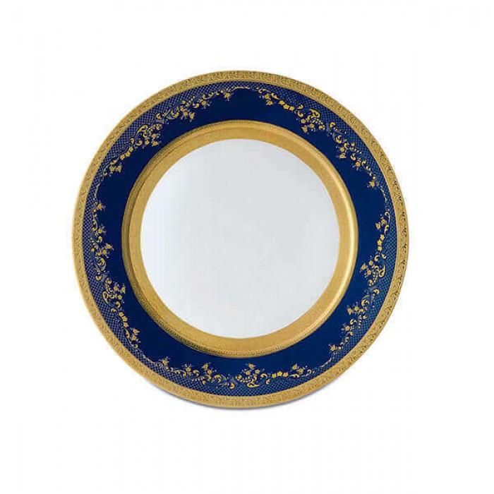 Фарфор Royal Gold - Набор для Ужина 6 Персон Кобальт (25 Единиц)