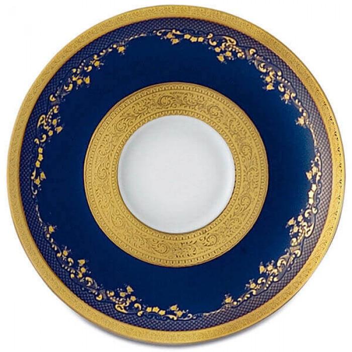 Фарфор Royal Gold - Кофейный Набор 12 Персон Кобальт (27 Единиц)