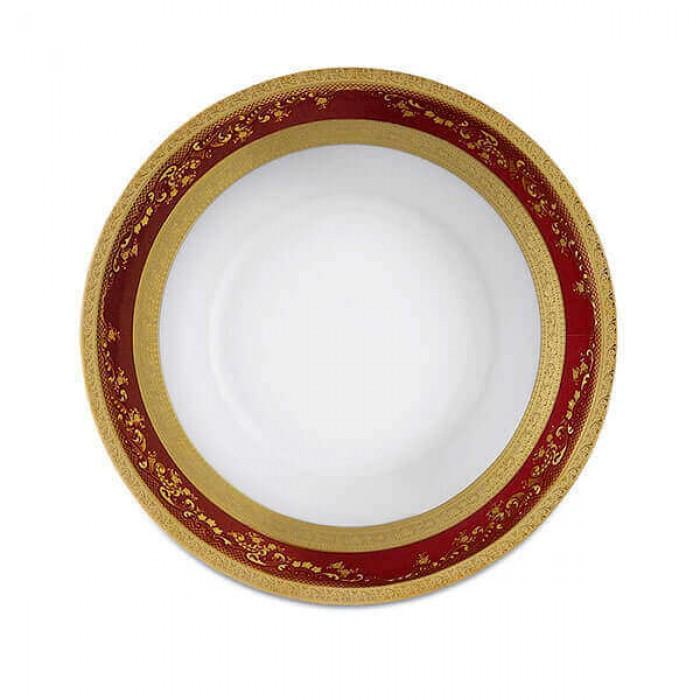 Фарфор Imperial Gold - Набор для Ужина 6 Персон Бордо (25 Единиц)