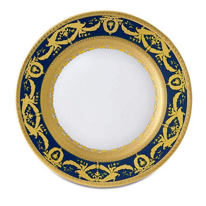Фарфор Imperial Gold - Тарелки для Хлеба 17 cм Кобальт (6 Единиц)