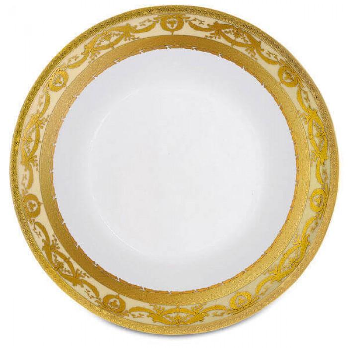 Фарфор Imperial Gold - Салатники 19 см Кремовые (6 Единиц)