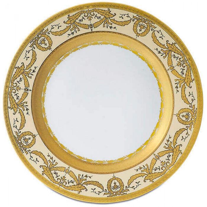 Фарфор Imperial Gold - Подставки под тарелки 32 см Кремовые (6 Единиц)