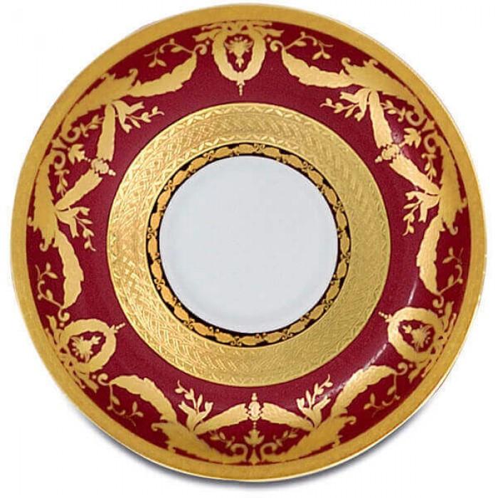 Фарфор Imperial Gold - Полный Набор на 6 Персон Бордо (40 Единиц)