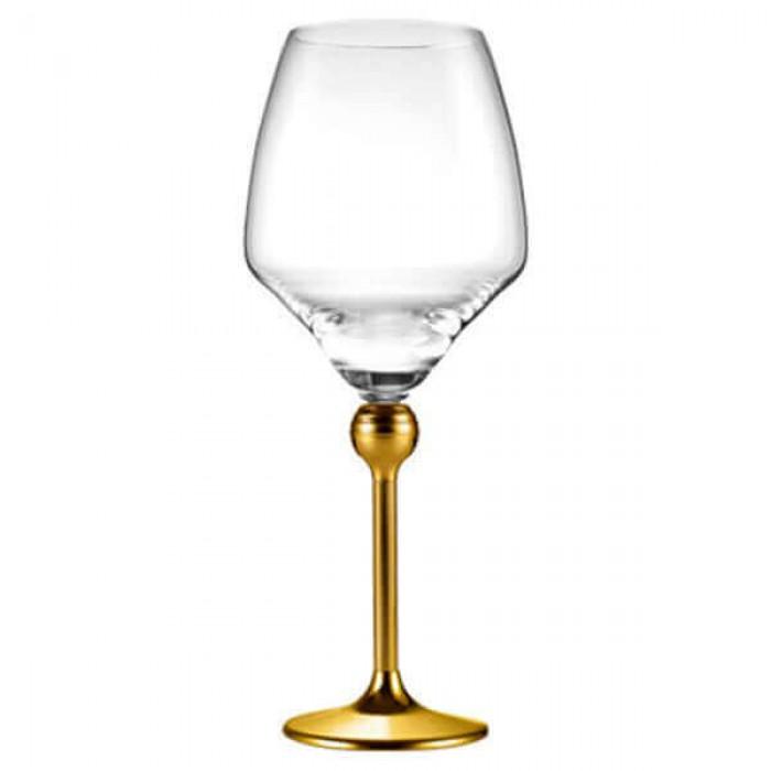 Полный набор из 24 бокалов - декор золото