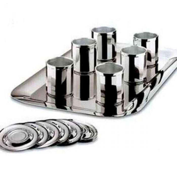 """Мини-набор """"Конте"""" - серебряное покрытие"""