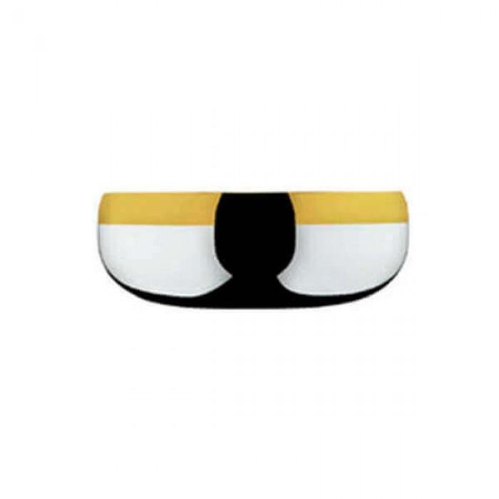 Набор из 6 шт чаш диаметром 12 см - с золотым декором