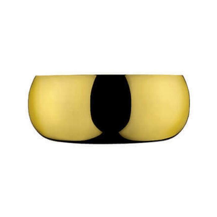 Барон чаша позолоченная диаметром 24 см.