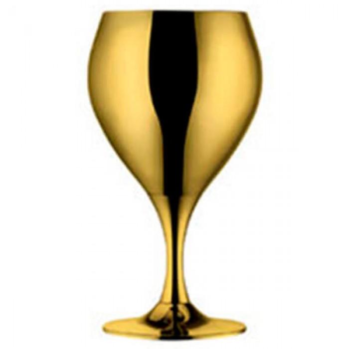 Набор из 6 шт бокалов для вина - позолота