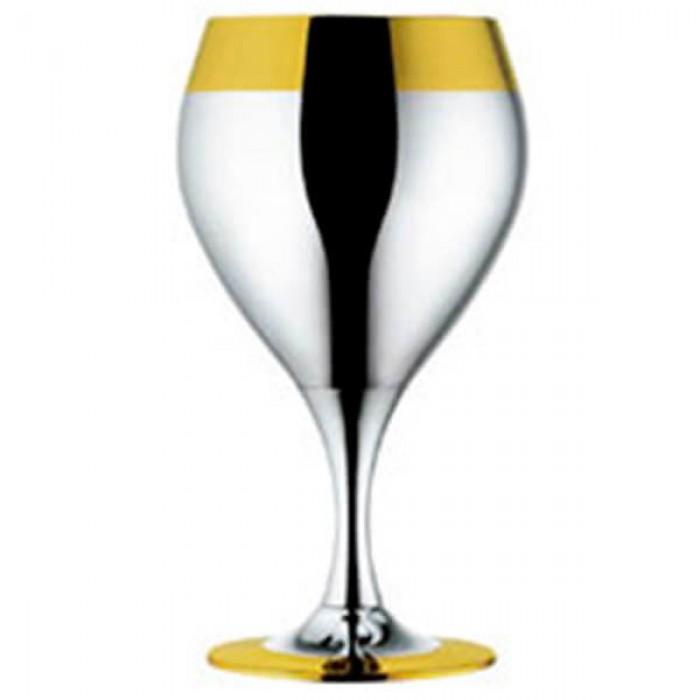 Набор из 6 шт бокалов для воды - с золотым декором