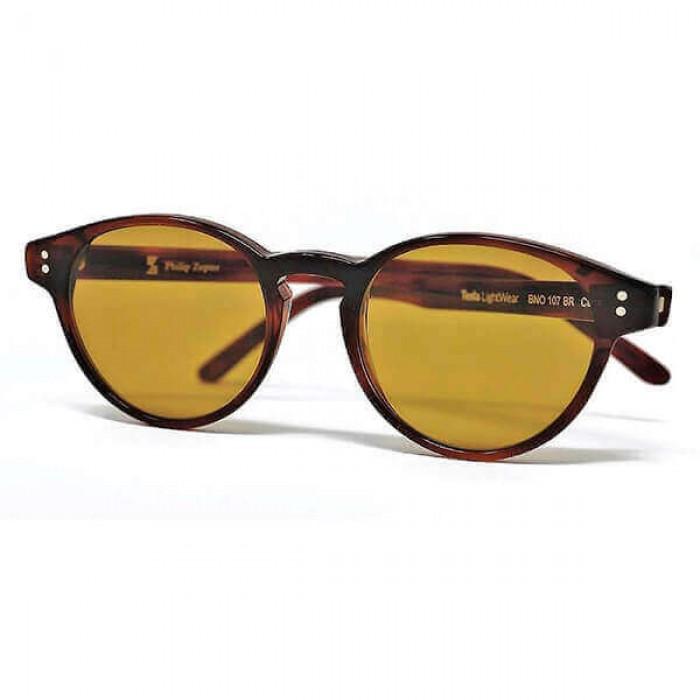 Очки TESLA LIGHT WEAR, модель 107, коричневые