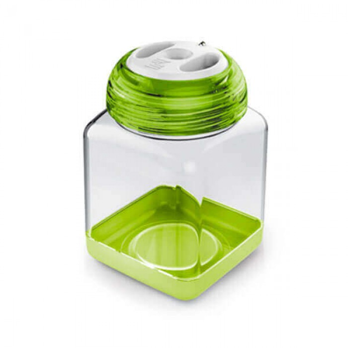 Ёмкость для специй 8x8x12 см 0,45л зелёная