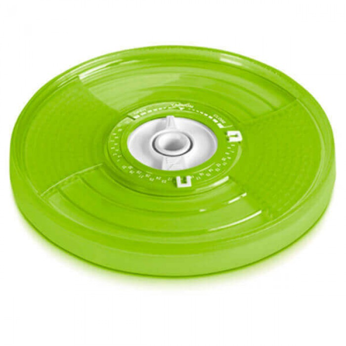 Универсальная крышка Ø8-16 см зеленая