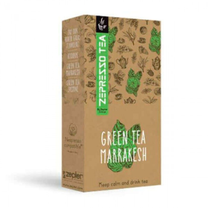"Чай Zepresso Tea ""Green Tea Marrakesh"""