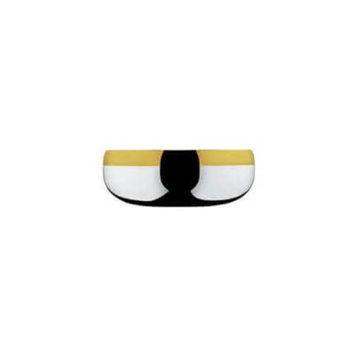 Набор Барон из 6 шт чаш диаметром 12 см.- посеребренный с золотым декором