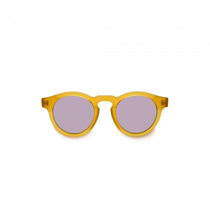 Фуллереновые очки Tesla Hyperlight Eyewear, зерк, Model 001, Желтые