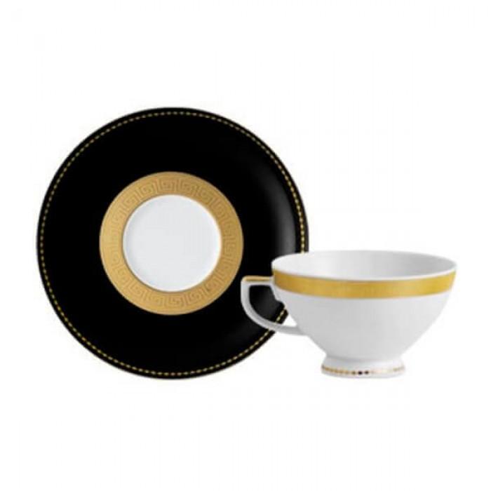 Фарфор Black & White - Кофейный набор Дополнение Черно-Белые (12 Единиц)