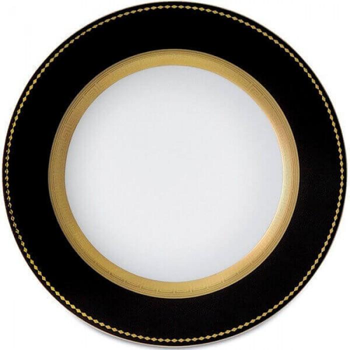 Фарфор Black & White - Набор для Ужина на 12 Персон Черно-Белые (43 Единицы)