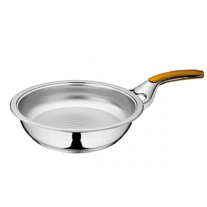 Сковорода с одной ручкой 2,5л - Ø24см - высота 6 см (без крышки)